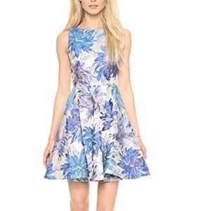 Alice & Olivia Foss fit and flare mini dress